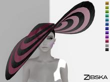 Zibska ~ Tizia Color Change Wide Brim Floppy Hat