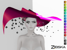 Zibska ~ Rica Color Change Wide Brim Hat and Orbits