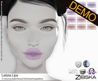 Zibska ~ Letizia Lips Demos [lelutka/genus/laq/catwa/omega/tattoo]