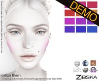 Zibska ~ Letizia Blush Demos [lelutka/genus/laq/catwa/omega/tattoo/universal tattoo BOM]