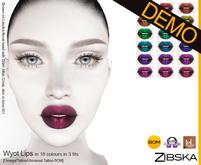 Zibska ~ Wyot Lips Demo [omega/tattoo/universal tattoo BOM]