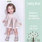 TPT - Emily Rose Cardigan Lavender - TD/Bebe