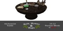 Myth, Mystery & Magic - Alchemist Table