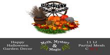 Myth, Mystery & Magic - Happy Halloween Garden