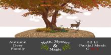 Myth, Mystery & Magic - Autumn Deer Family (Animated)