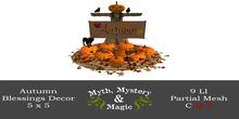 Myth, Mystery & Magic - Autumn Blessings Decor