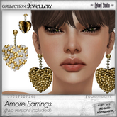 [ glow ] studio Amore Earrings (2versions)