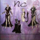 [NC] - Bloody & Icy SET - Icy/black skirt - Maitreya