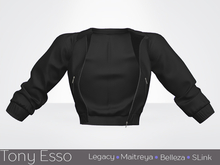 Tony Esso x MAGNA  - Noelle Jacket (Black)