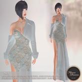 .:FlowerDreams:. Mia Gown Autumn Romance - sky blue