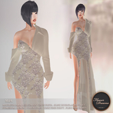.:FlowerDreams:. Mia Gown Autumn Romance - beige