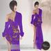 .:FlowerDreams:. Mia Gown Asian Spring -indigo