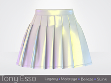 Tony Esso x MAGNA  - Noelle Skirt (Vinyl Pearl)