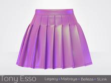 Tony Esso x MAGNA  - Noelle Skirt (Vinyl Pink)