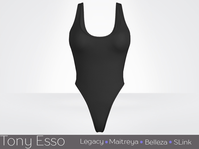 Tony Esso x MAGNA  - Noelle Bodysuit (Black)