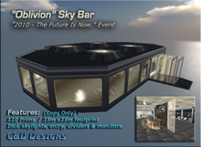 "CyberTech Collection - ""Oblivion"" Sky Bar (Prefab)"