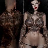 Vezzo Ink Tattoo - Moana - Black