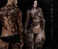 Hydra Tattoo - Black, single colour, Maitreya, Legacy, INTHIUM KUPRA, Belleza, Signature, Omega, BOM - Vezzo Ink