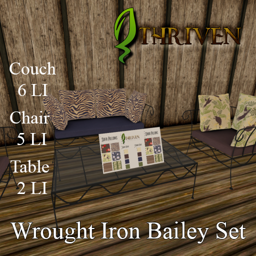 ThrivenRP Wrought Iron Bailey