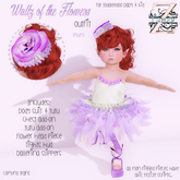 FanZy - Waltz of the Flowers {Plum}