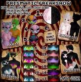 Prismatic. Feakshow - Pebs UR & SR (Voucher)