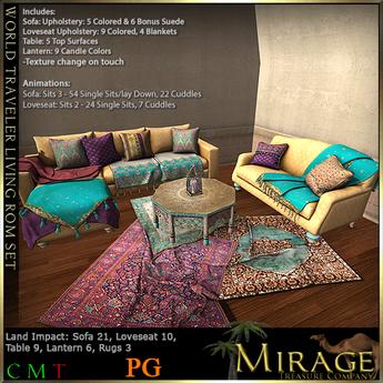 =Mirage= World Traveler Set PG