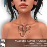 The Elephant Tree - Majestic Tattoo