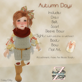 ToddleTeeZ By: Z - Autumn Days - Full Outfit
