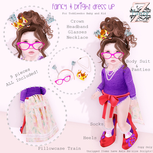 FanZy - Fancy & Bright Dress-Up {Outfit}