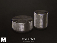 Architect. Torrent Table Set Silver