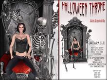 Boudoir Halloween-Animesh Wearable Halloween Throne