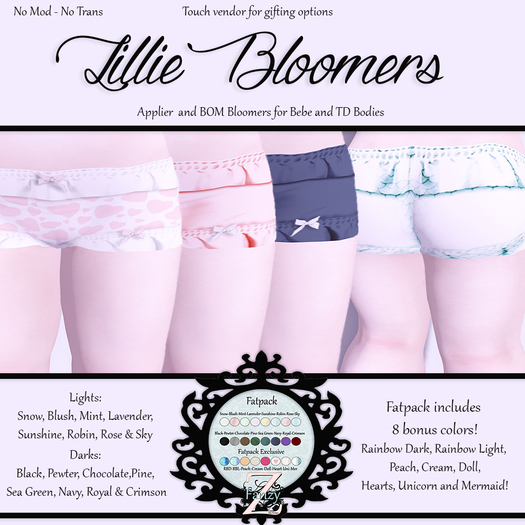 FanZy  - Lillie Bloomers {Lights}