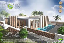 inVerse MESH - BAHIA- furnished  modern house villa 500+ animations