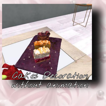 cake without animation