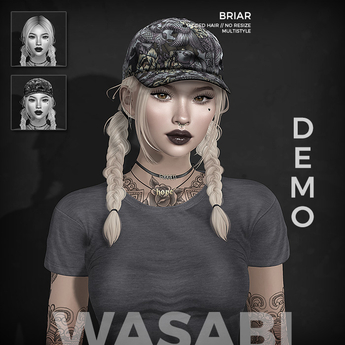 Wasabi // Briar Mesh Hair - Demo