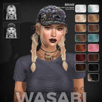Wasabi // Briar Mesh Hair - Basics