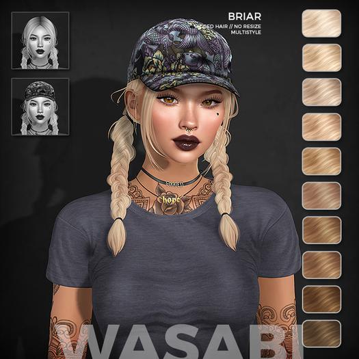 Wasabi // Briar Mesh Hair - Blonds