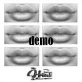 .:the-HAUS:. Jordan Lipstick Pallet DEMO