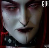Sköll - Thirst? (lip blood) GIFT