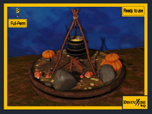 ::DisturbeD:: PROMO Halloween Witches Brew - FULL PERM MESH