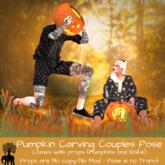 The Elephant Tree - Pumpkin Carving Couples Pose- REZ