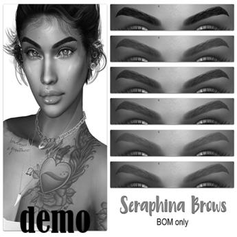 .:the-HAUS:. Seraphina BOM Eyebrows (LeL) DEMO