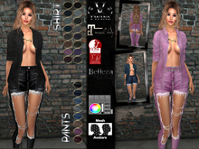 V-Twins - Slayer Casual for Maitreya, Belleza and Slink