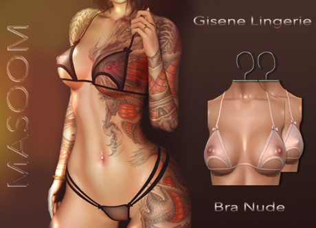 [[ Masoom ]] Gisene- Bra - Nude - Legacy Perky, Legacy, Lara, Lara Petite, Freya