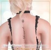 <3 bemine - Blessed Tattoo