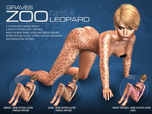 GRAVES Zoo - Leopard - Animal Print Tattoo, BOM, Omega Applier