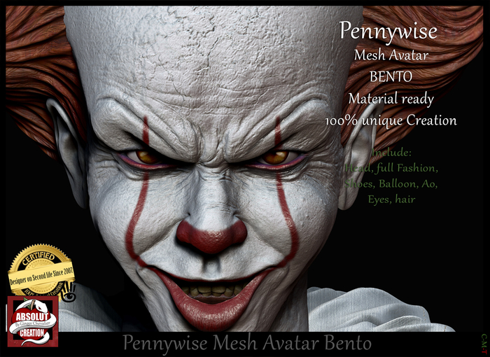 """*!* Pennywise """"wear me"""""""