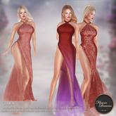 .:FlowerDreams:. Tara Gown - reds