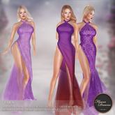 .:FlowerDreams:. Tara Gown - purples Demo