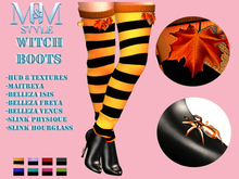 M&M STYLE-HALLOWEEN WITCH BOOTS-OCT20